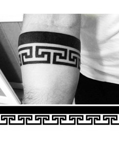 Roman Forearm Hand Band Best Waterproof Men and Women Temporary Body Tattoo