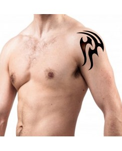 voorkoms 3d tribal body (V-148) temporary tattoo size 11cm x 6 cm