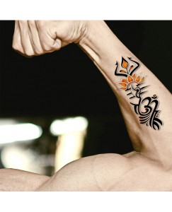 Dad with Heart Tattoo Temporary Body Waterproof Boy and Girl Tattoo V_58