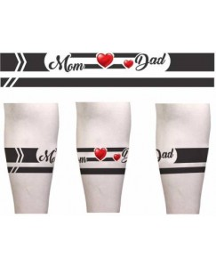 Voorkoms Mom Dad Hand Band Tattoo New Designs Men and Women Waterproof Temporary Body Tattoo V_HB_5